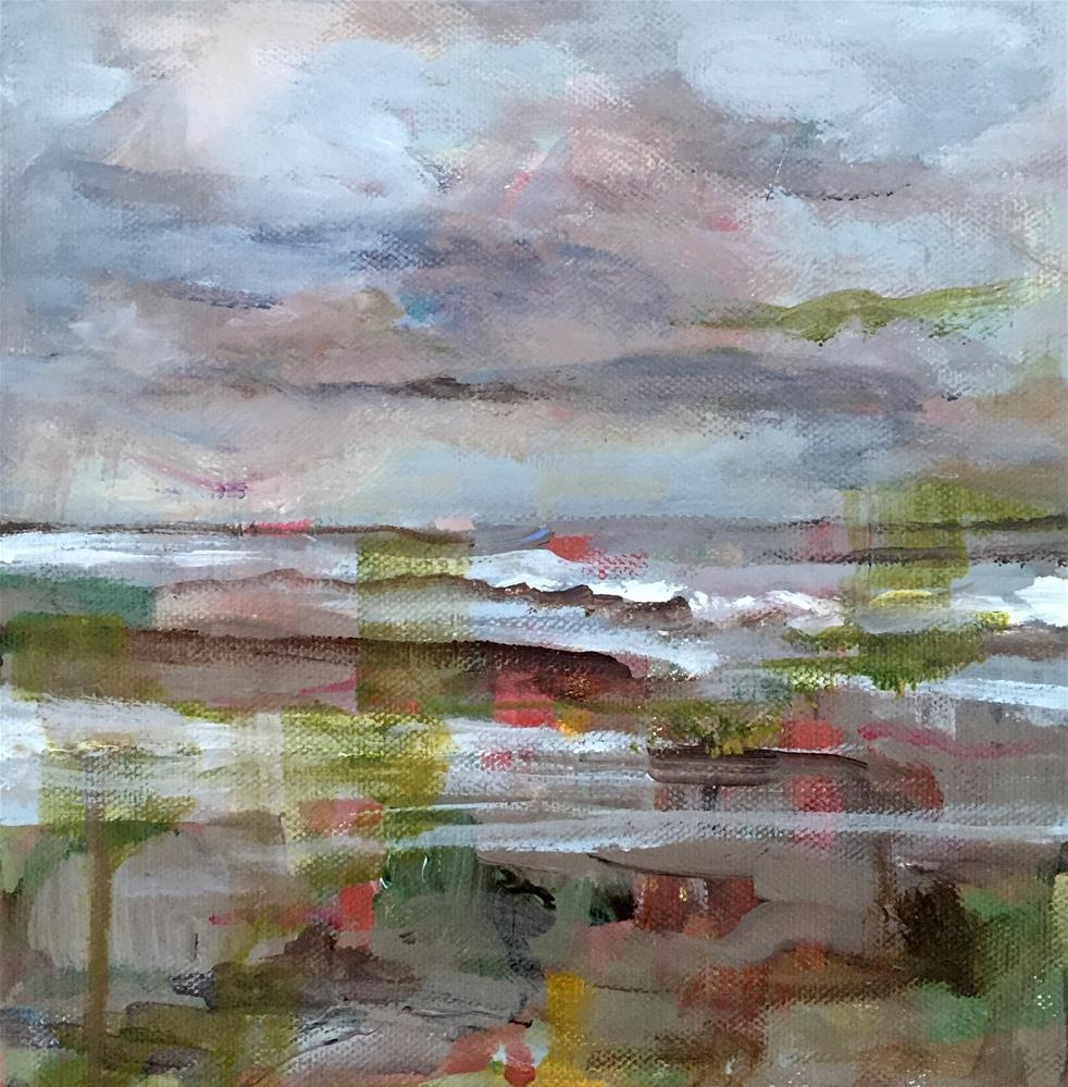 """Gray Day"" original fine art by Molly Wright"