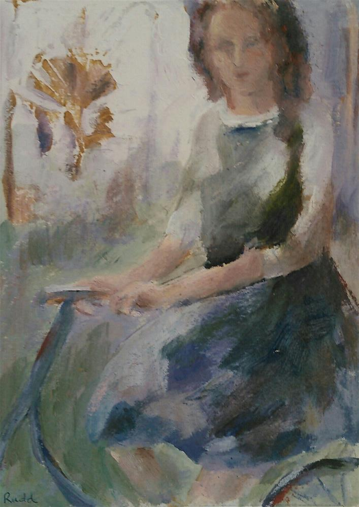 """Journey Continues"" original fine art by Ann Rudd"