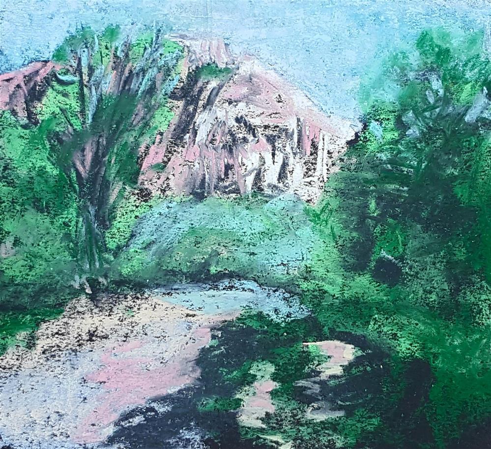 """Ghost Ranch II"" original fine art by Phyllisha Hamrick"