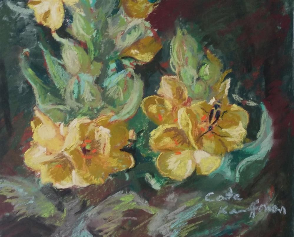 """""""Mullein flower"""" original fine art by Catherine Kauffman"""