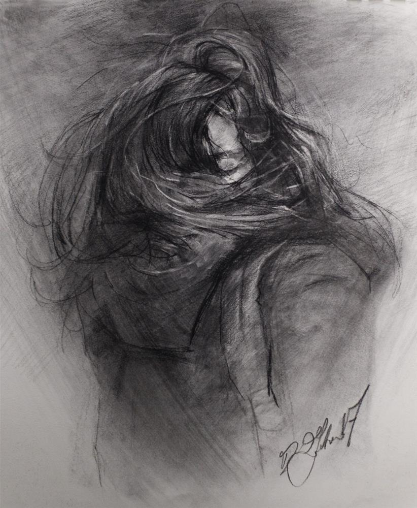 """Into the Cold No. 9"" original fine art by Dimitriy Gritsenko"