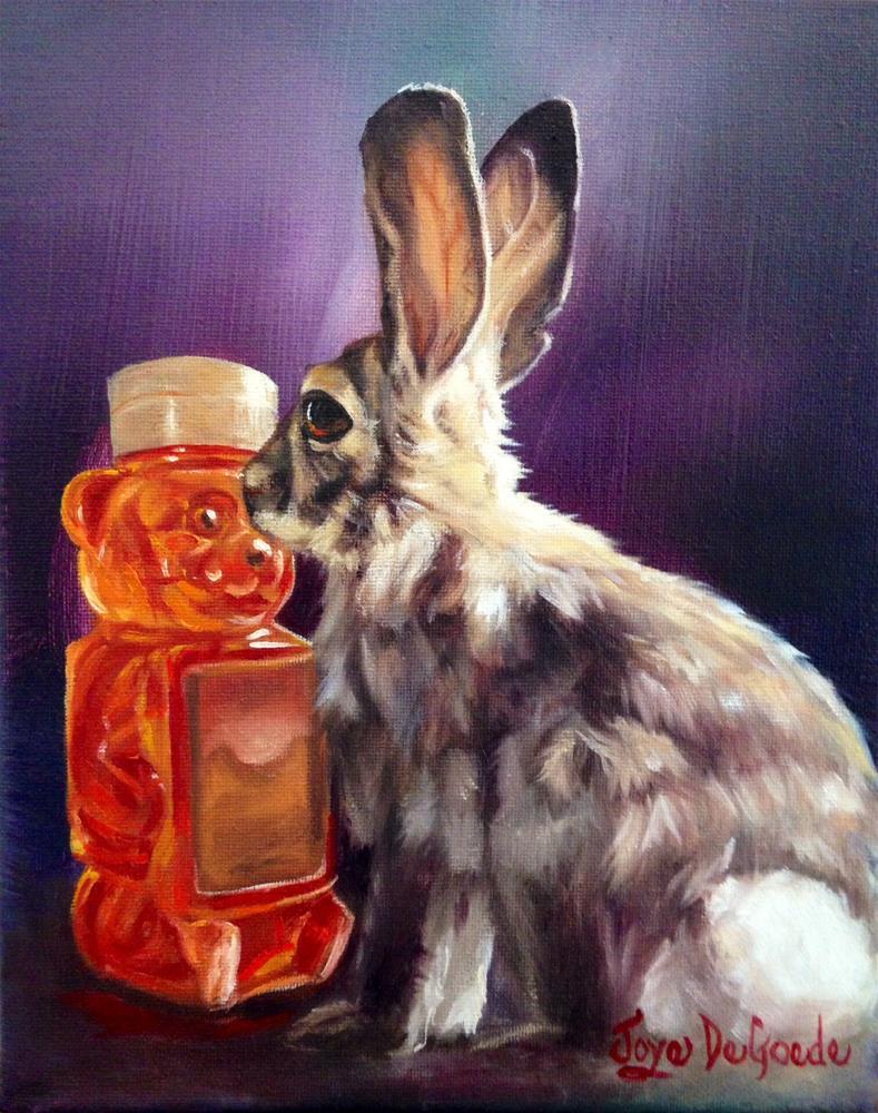 """Honey Bunny by Joye DeGoede"" original fine art by Joye DeGoede"
