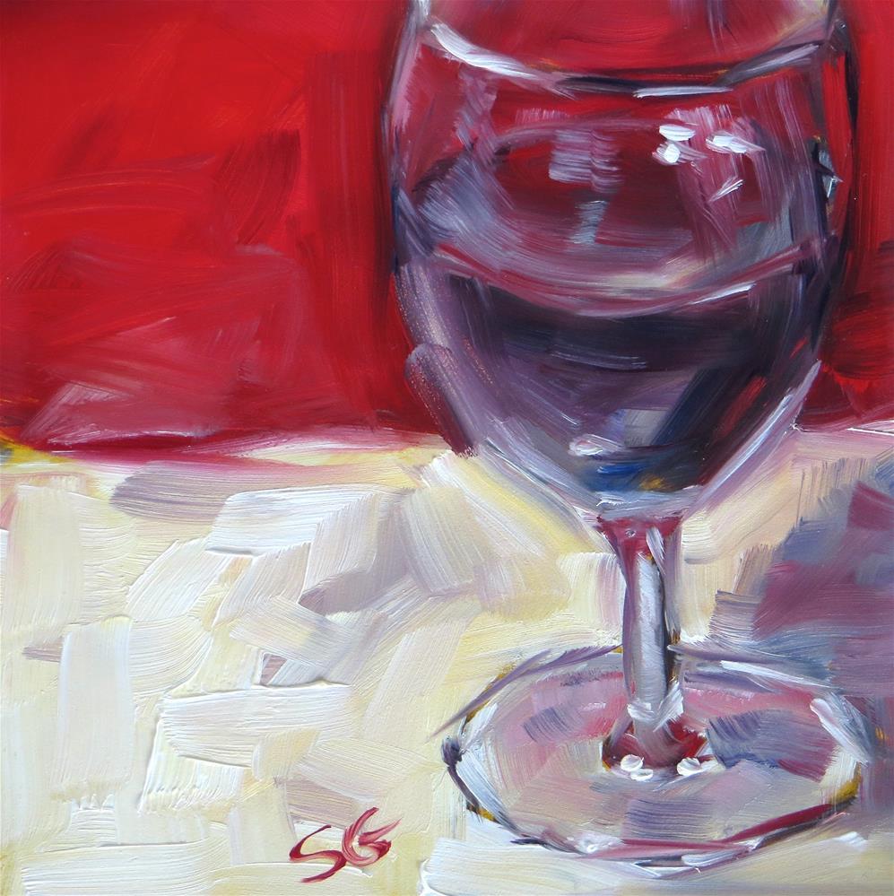 """Malbec"" original fine art by Susan Galick"