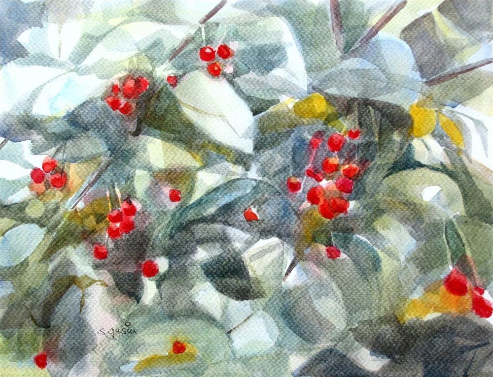 """""""When I was walking #3"""" original fine art by Suzanne Gysin"""