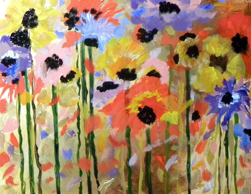 """Poppies"" original fine art by cheryl buhrman"