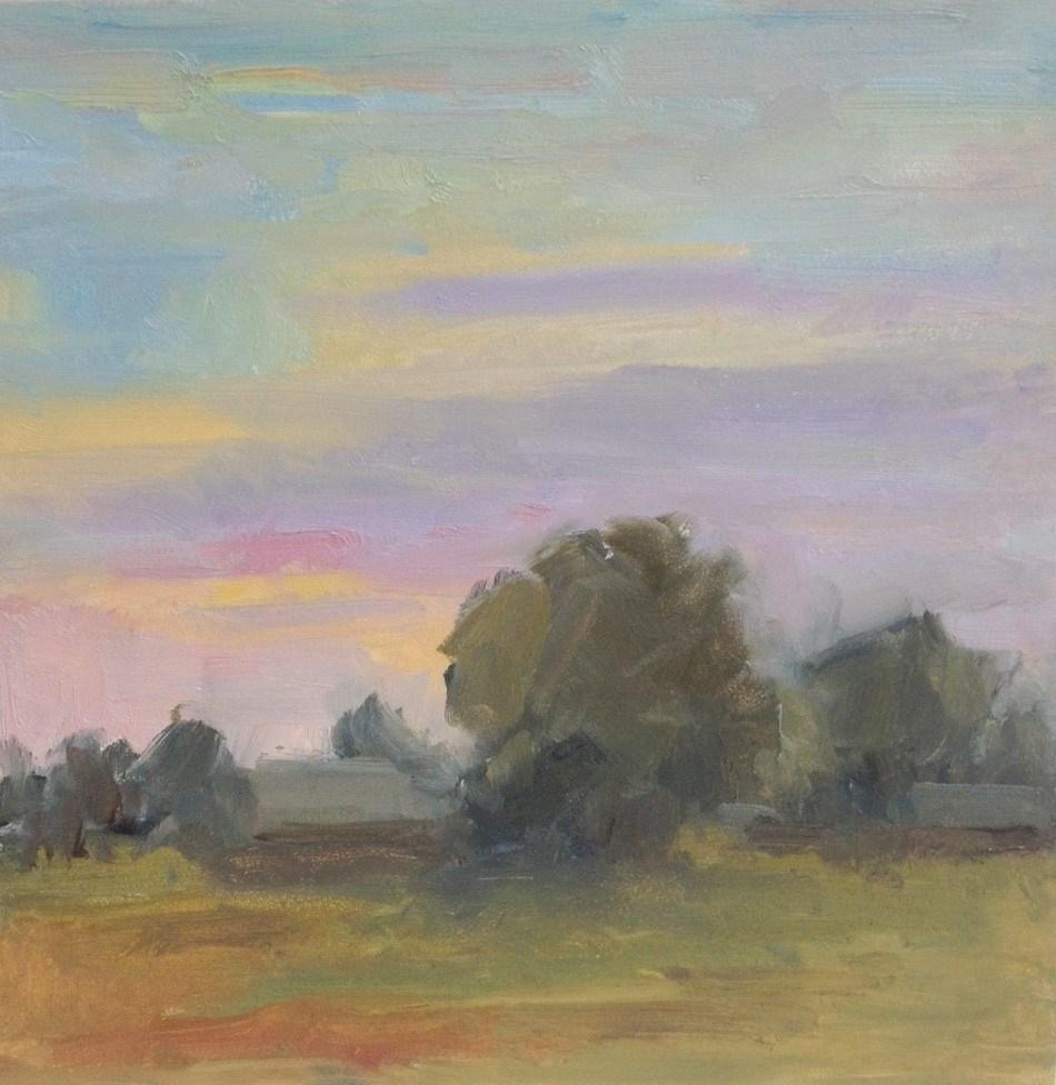 """Sunset 1"" original fine art by Carol Johansen"