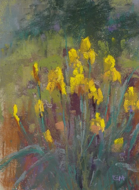 """""""Flower Painting Tips for May Day"""" original fine art by Karen Margulis"""