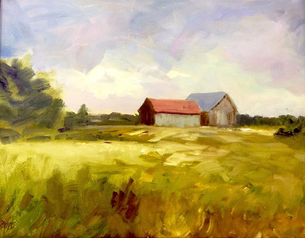 """Summertime Country"" original fine art by Cathy Boyd"
