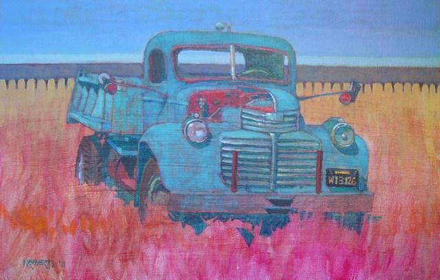 """""""Ginnie"""" original fine art by Nancy Roberts"""