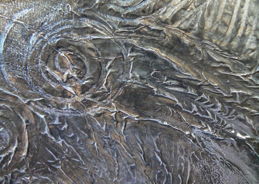 """Daily Mixed Media, 5x7  Untitled"" original fine art by Carol Schiff"
