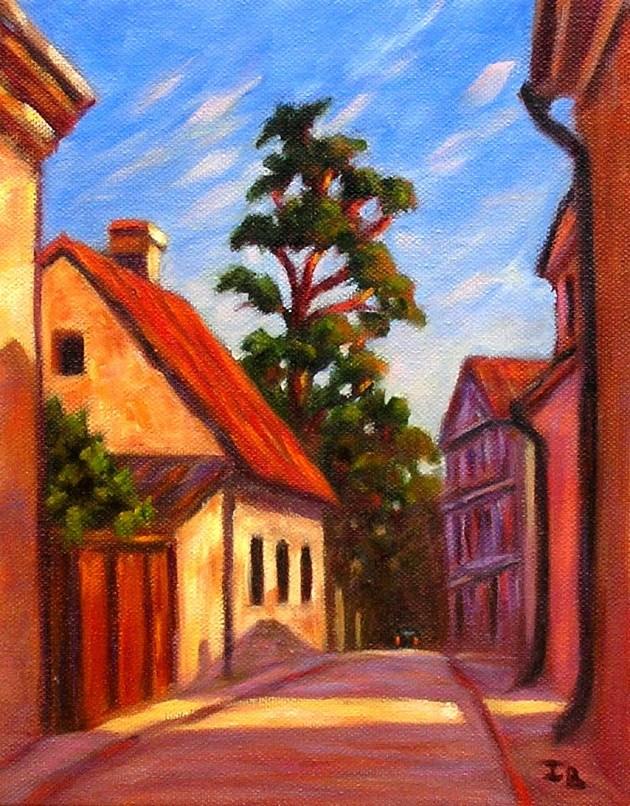 """Swedish Summer"" original fine art by Irina Beskina"