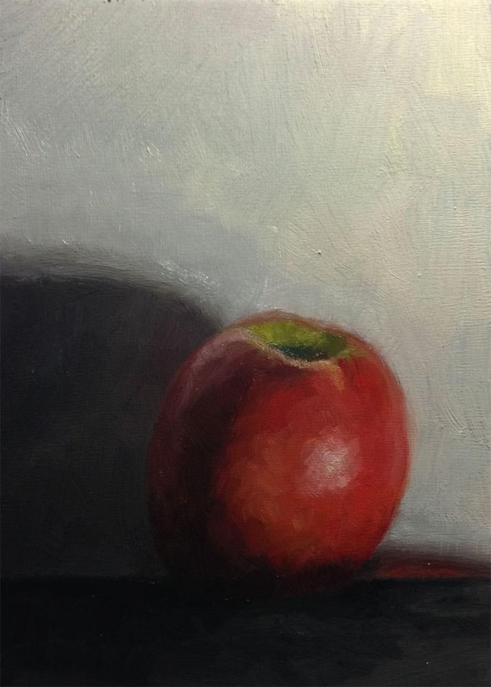 """Another Apple"" original fine art by Chris Beaven"