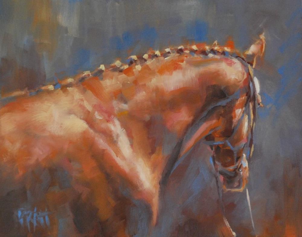 """At Inspections"" original fine art by Jennifer Pratt"