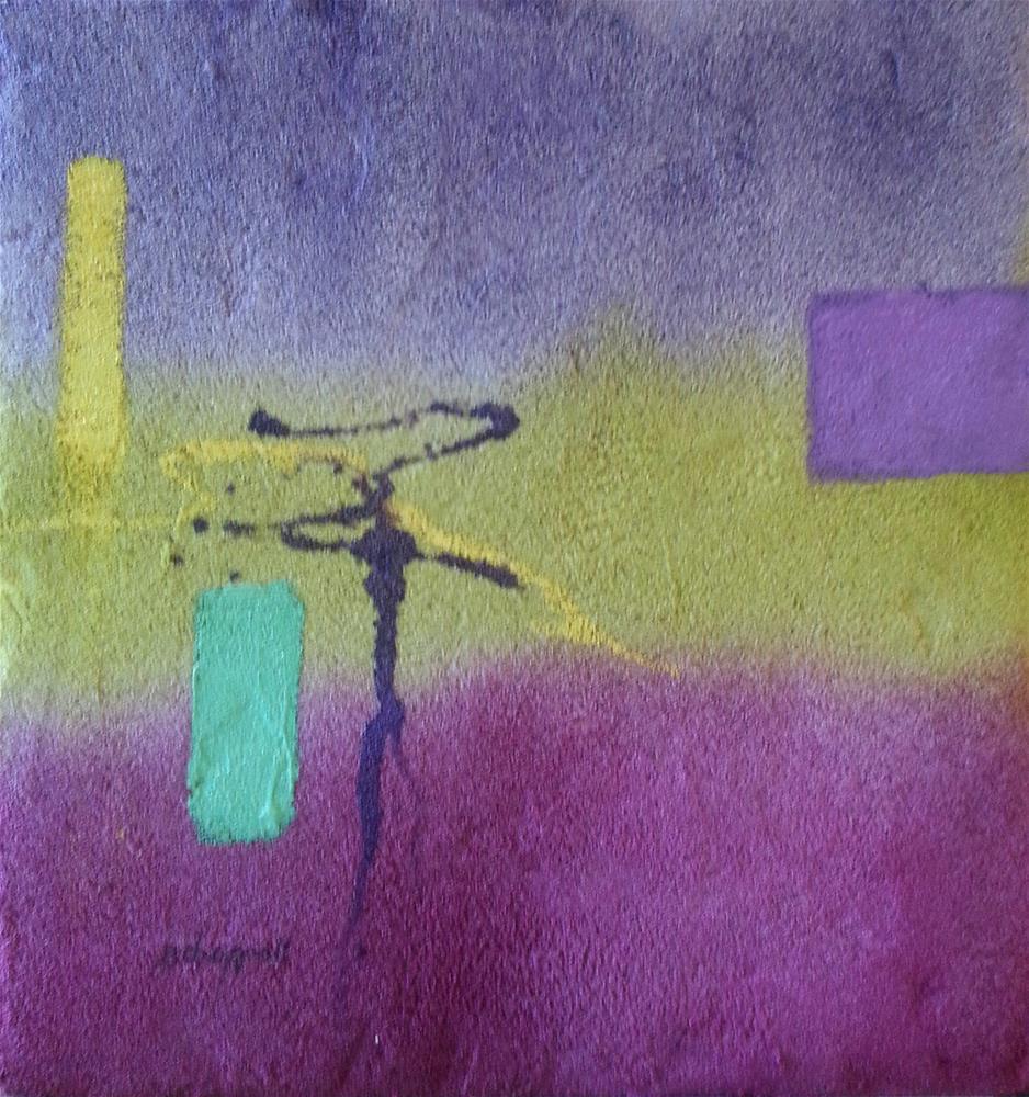 """""""Finding Balance"""" original fine art by Becky Chappell"""