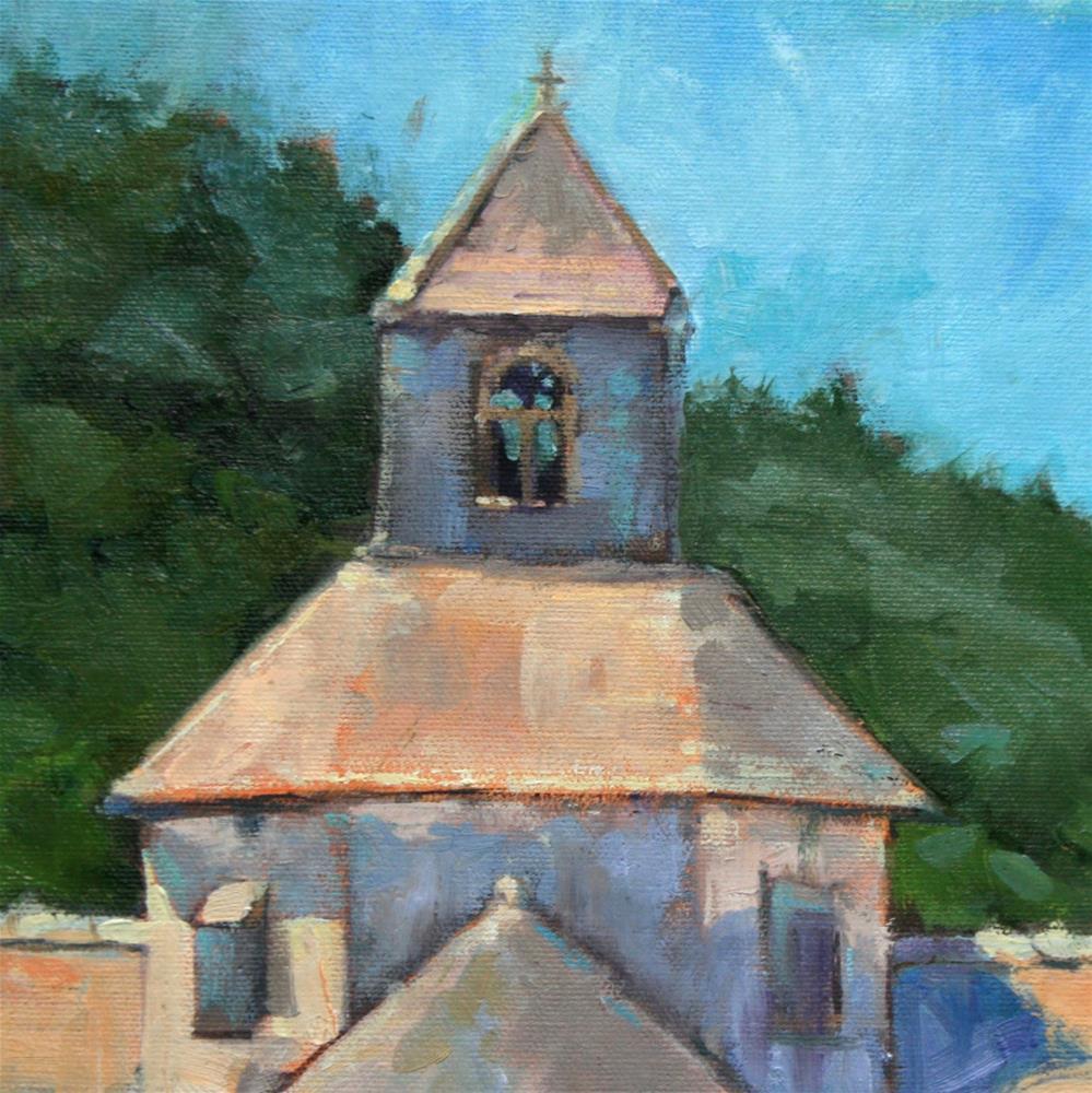 """""""Provence - Abbaye Notre-Dame de Sénanque"""" original fine art by Jane Robertson"""
