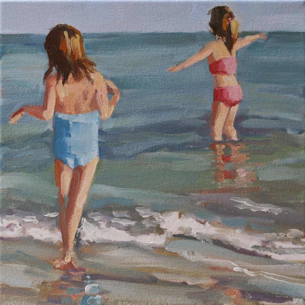 """open arms"" original fine art by Carol Carmichael"