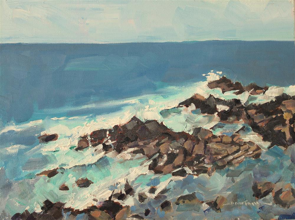 """On the Marginal Way"" original fine art by James Gorman"