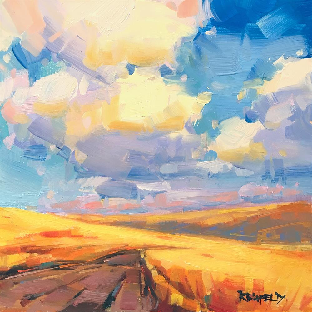 """Sunny Days Ahead"" original fine art by Cathleen Rehfeld"