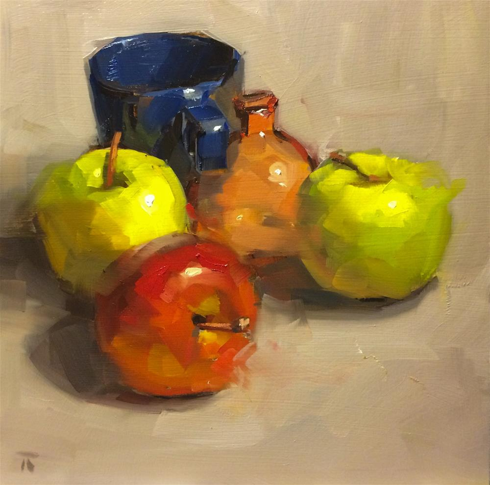 """Color Study"" original fine art by Thomas Ruckstuhl"