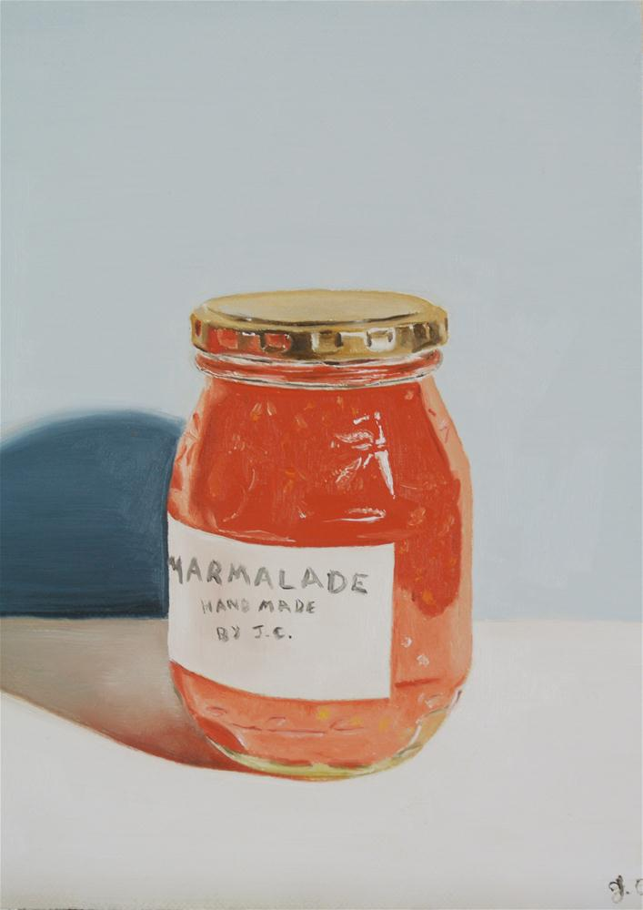 """Marmalade"" original fine art by James Coates"