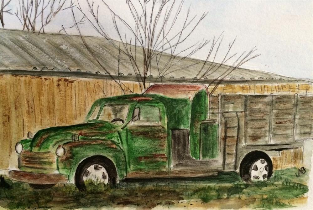 """""""Ignored 6 x 9 Watercolor"""" original fine art by Nancy Beard"""