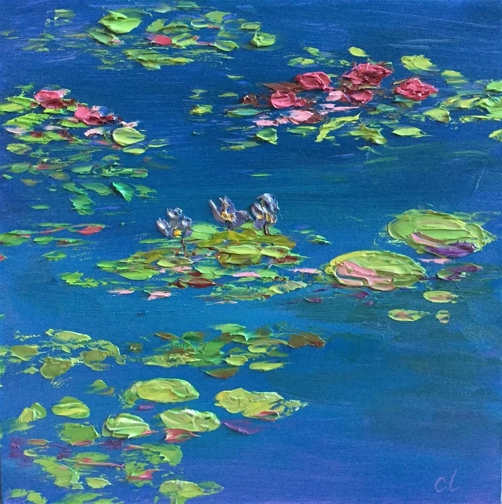 """Colorado Pond Performers"" original fine art by Cheree Apalona Lueck"