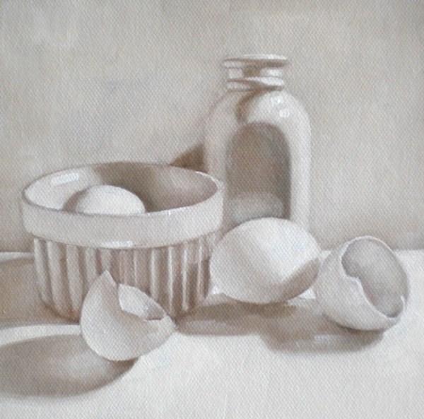 """Eggshell"" original fine art by Darla McDowell"