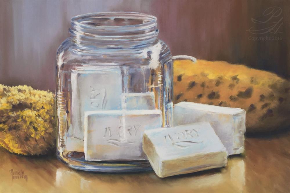 """Ivory Clean"" original fine art by Pamela Hamilton"