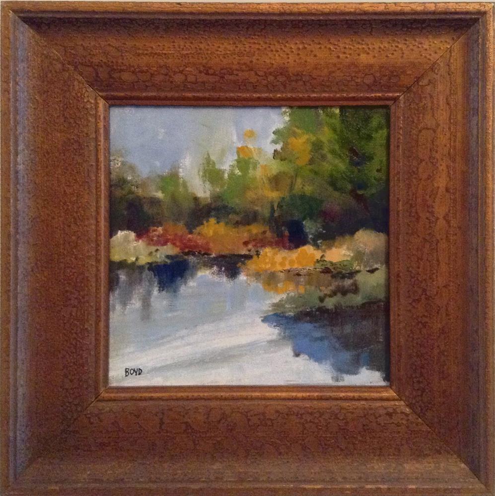 """Marsh Memories"" original fine art by Cathy Boyd"
