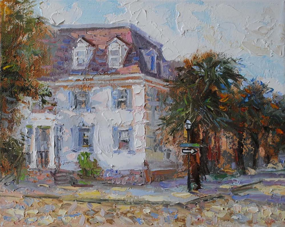 """Charleston Street"" original fine art by Elena Katsyura"
