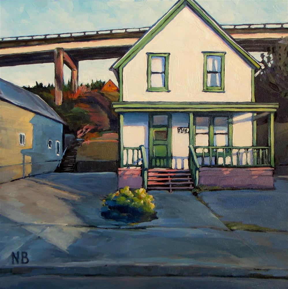 """Troll Pad"" original fine art by Nora Bergman"