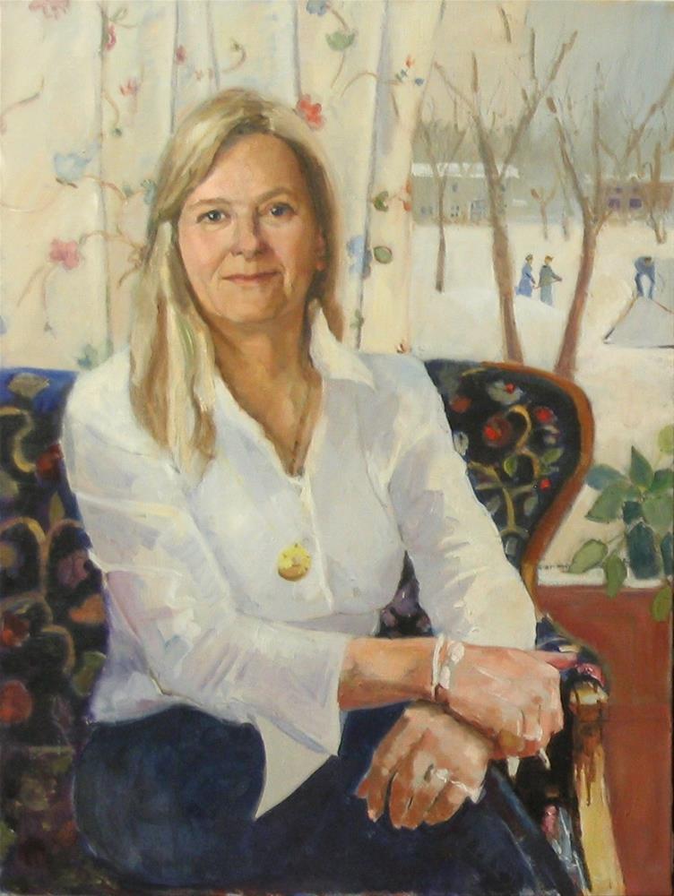 """maureen"" original fine art by meribeth coyne"
