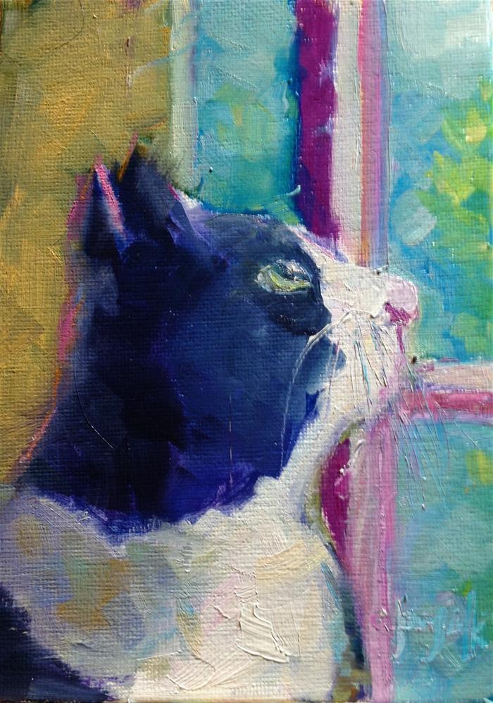 """Max - take #2"" original fine art by Carol Josefiak"