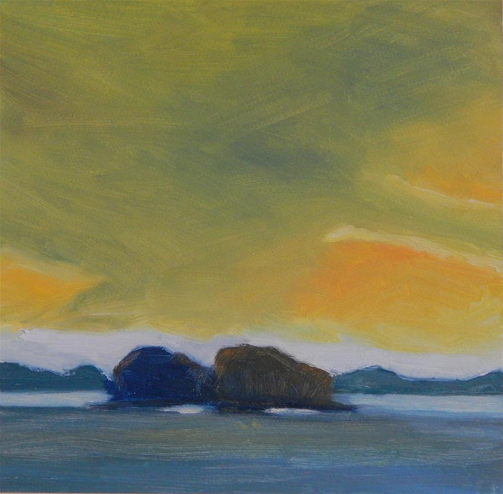 """Maine Sky"" original fine art by Lisa Kyle"
