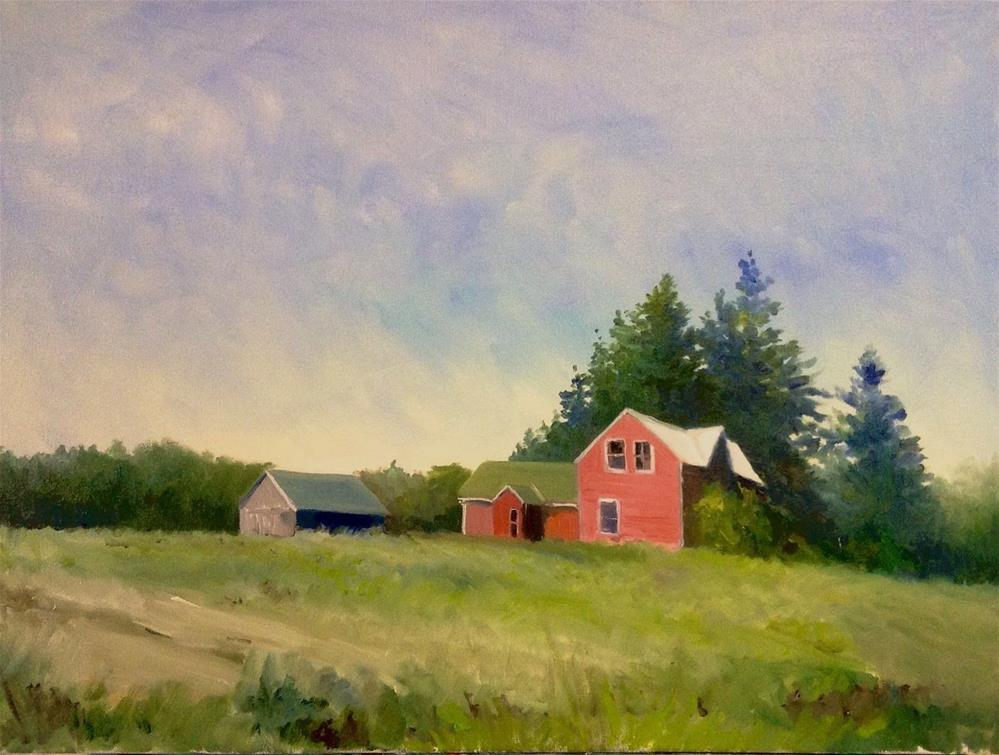"""Memory Lane"" original fine art by Cathy Boyd"