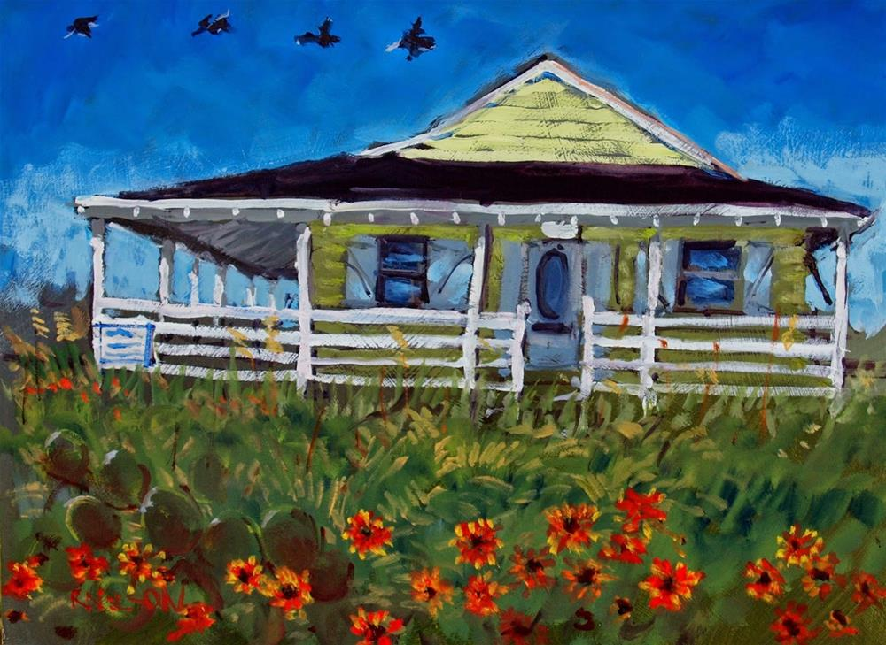 """Ocean Front KDH"" original fine art by Rick Nilson"