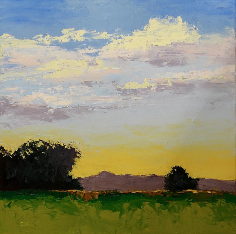 """Landscape # 1"" original fine art by Carolyn McDonald"