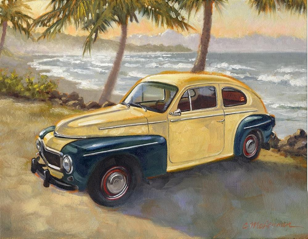 """Ralph's Other Honey"" original fine art by Connie McLennan"