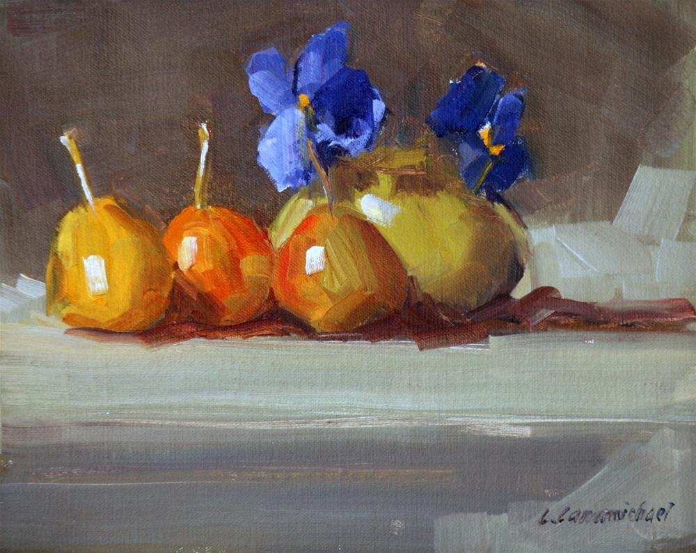 """top left"" original fine art by Carol Carmichael"