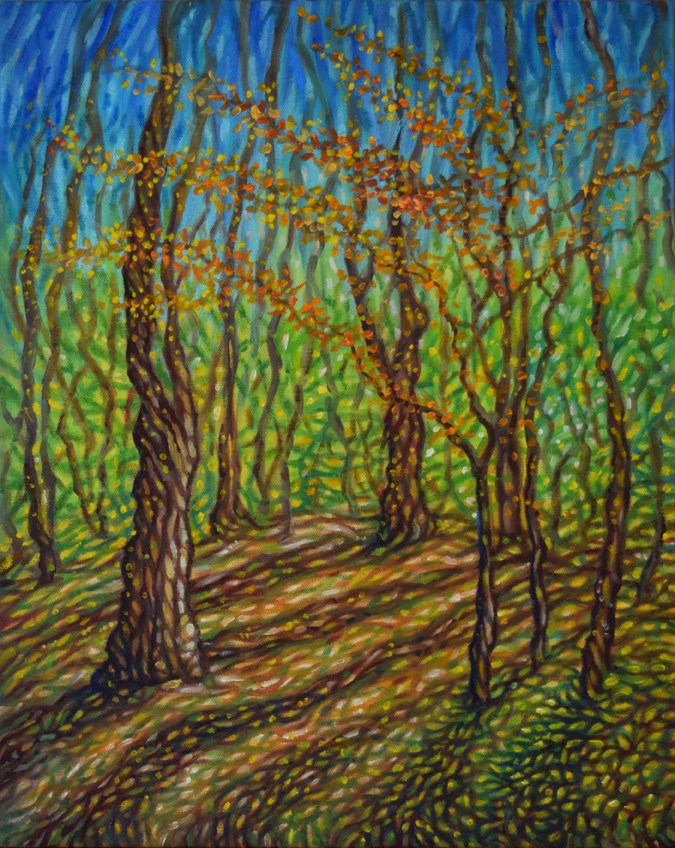 """Hidden Path"" original fine art by Lori Fredricks"