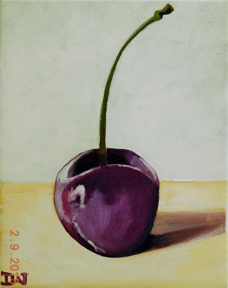 """Cherry"" original fine art by Daryl West"