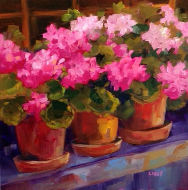 """""""Carpe Diem"""" original fine art by Libby Anderson"""