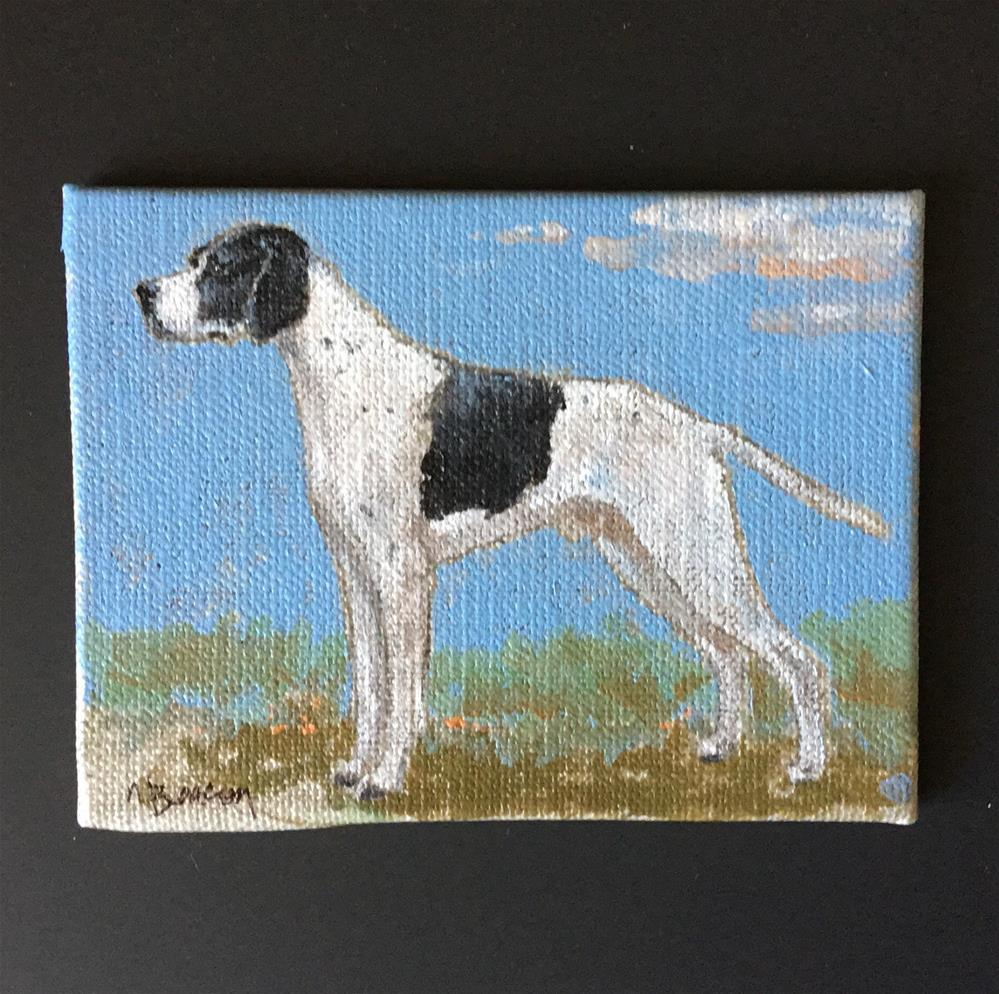 """Pointer"" original fine art by Mary Beacon"