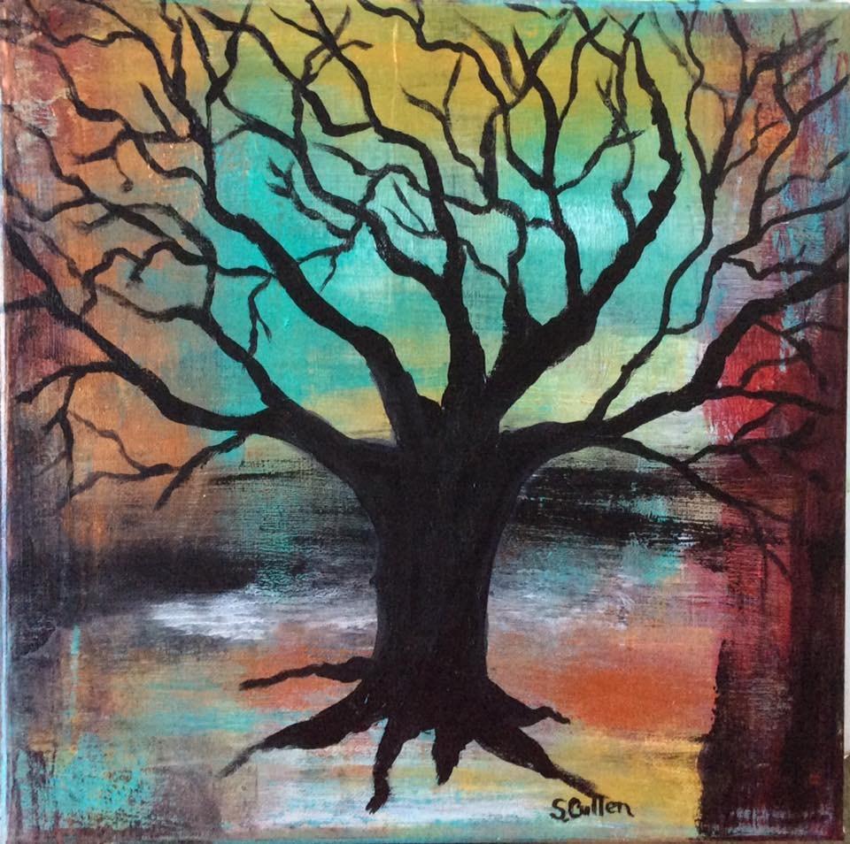 """Family Tree"" original fine art by Sharon Cullen"