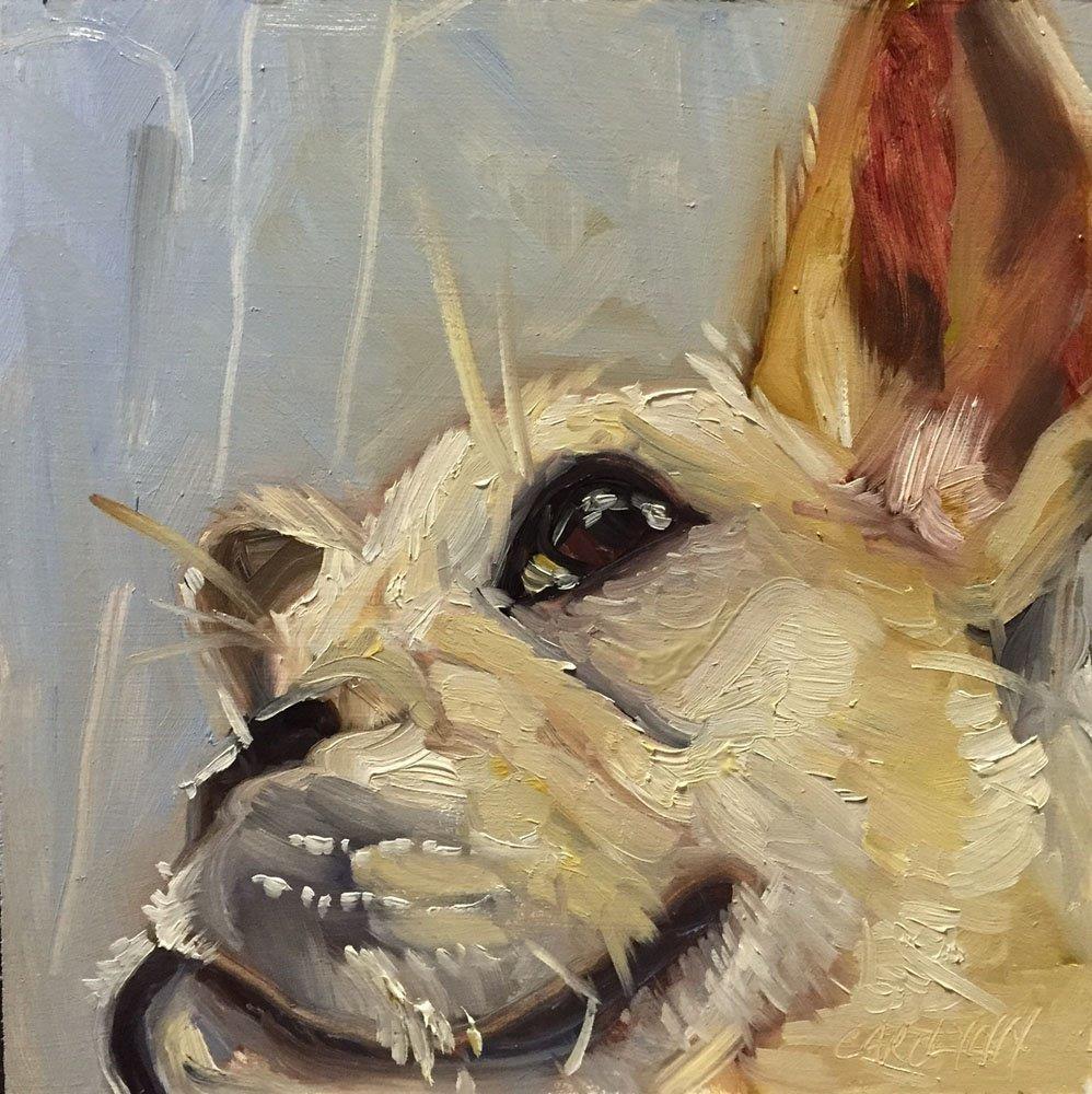 """""""Eye on the World"""" original fine art by Carolynn Doan"""