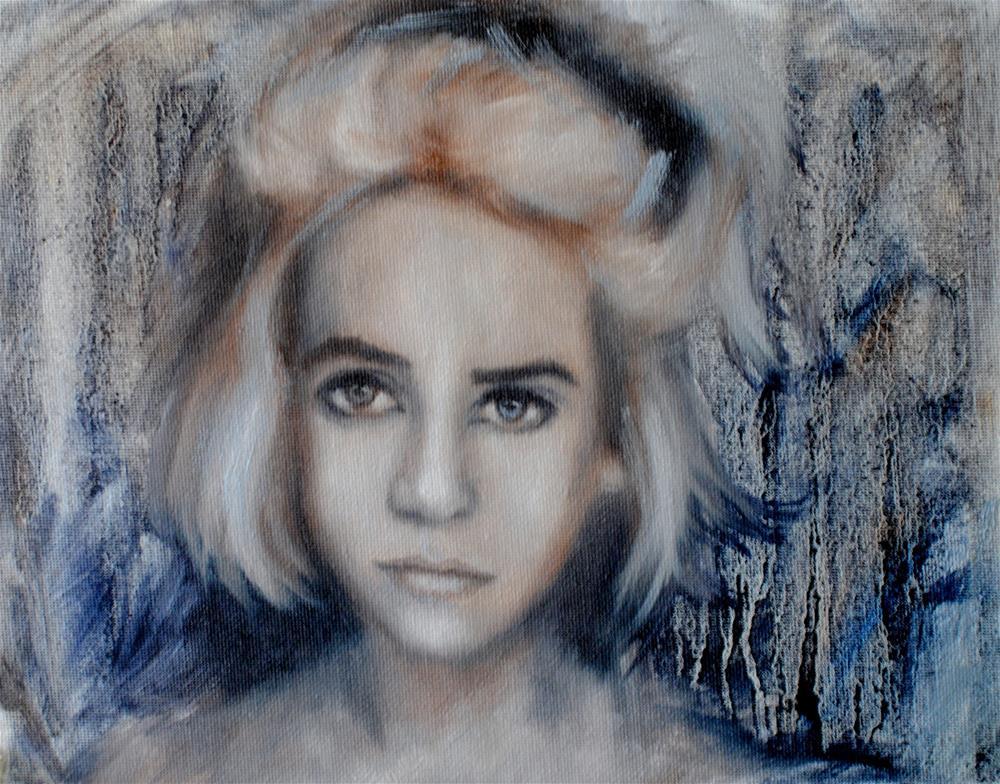 """Britta"" original fine art by Kelly Berkey"