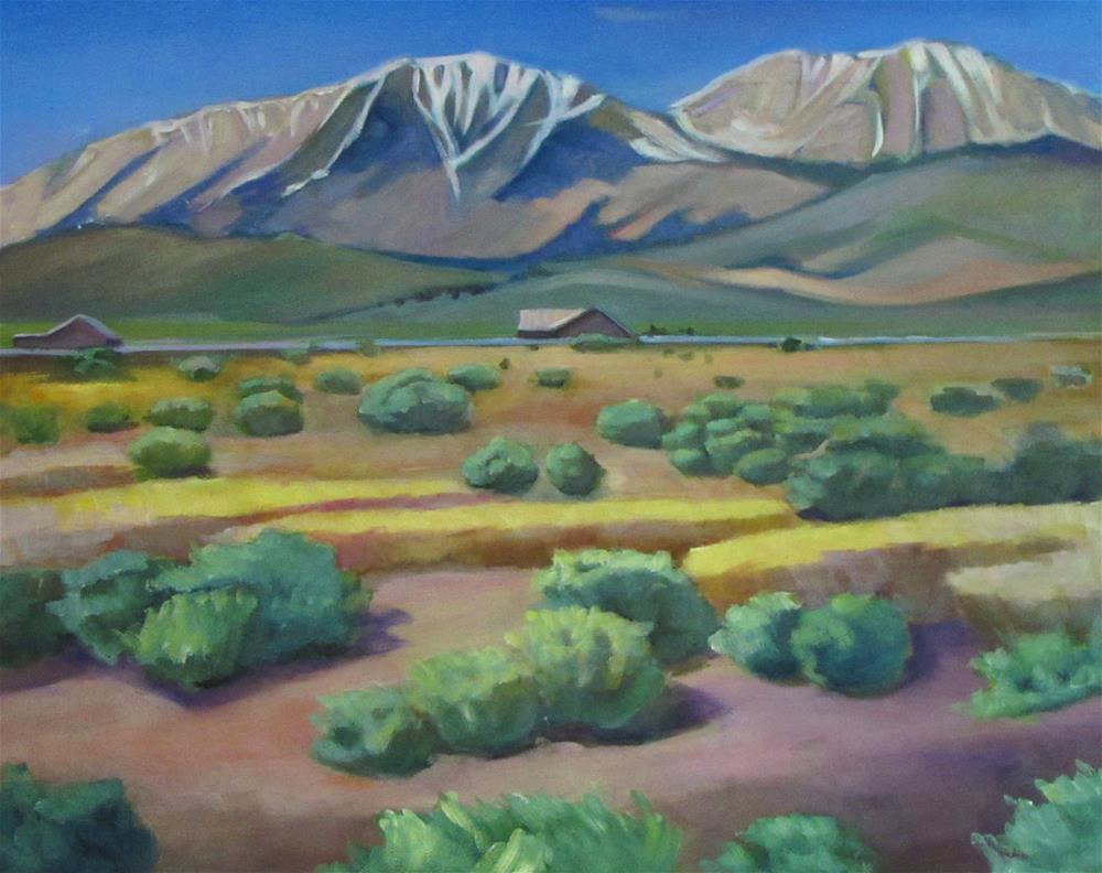 """East of Yosemite"" original fine art by Susan Suraci"