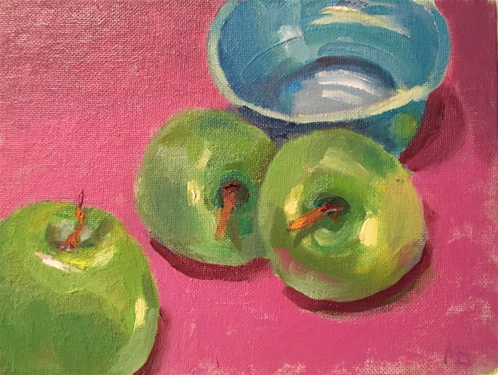"""Our Bowl!"" original fine art by Marcia Bergtholdt"