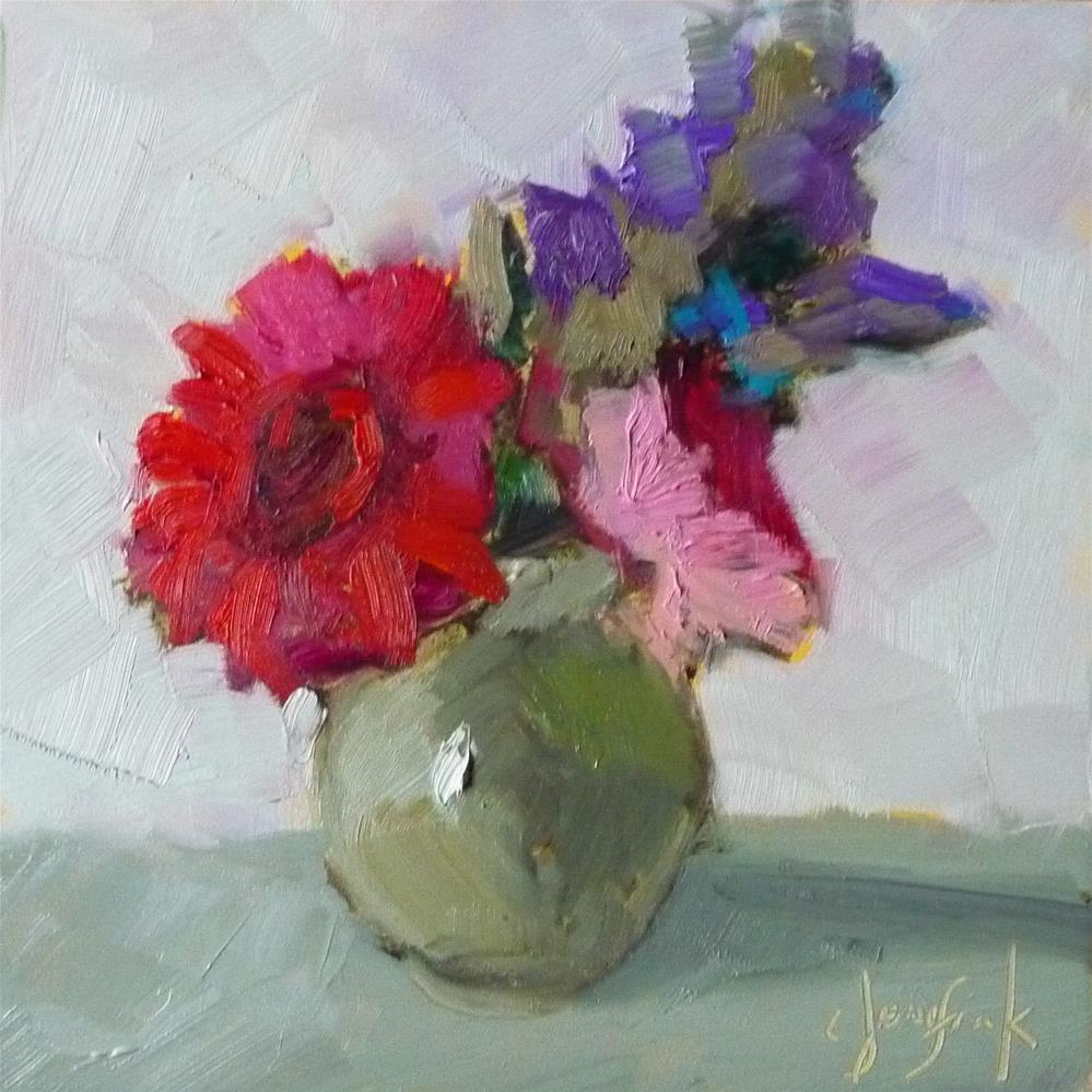 """Bouquet"" original fine art by Carol Josefiak"