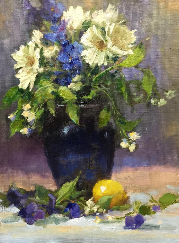 """Spring Bouquet"" original fine art by Krista Eaton"